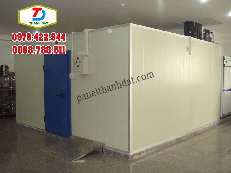 Ứng dụng thi công panel pu cách nhiệt làm kho lạnh