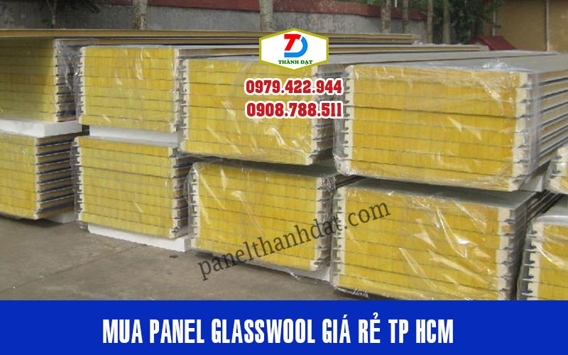 Mua Tấm Panel Glasswool Bông Thủy Tinh Chống Cháy rẻ nhất TPHCM