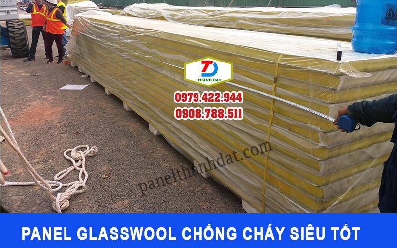 Panel Glasswool chống cháy siêu tốt
