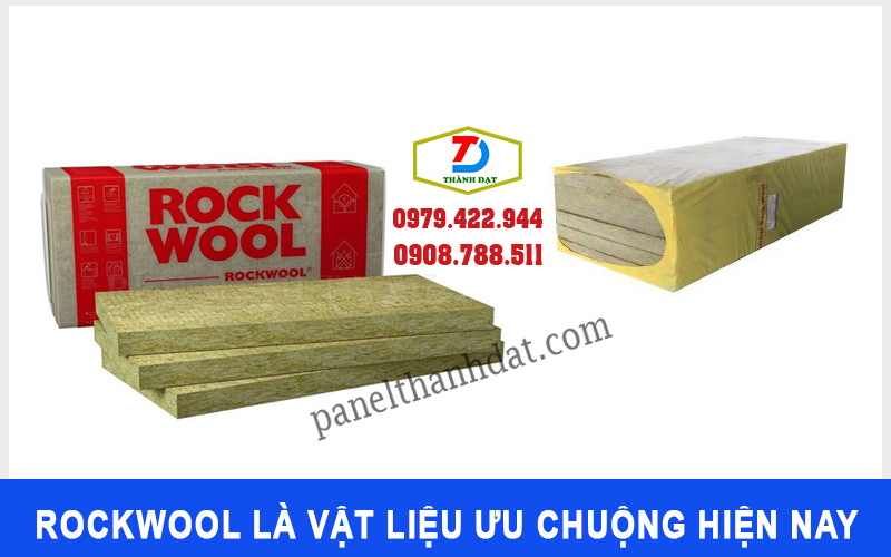Rockwool là một trong những vật liệu cách âm cách nhiệt ưu chuộng hiện nay