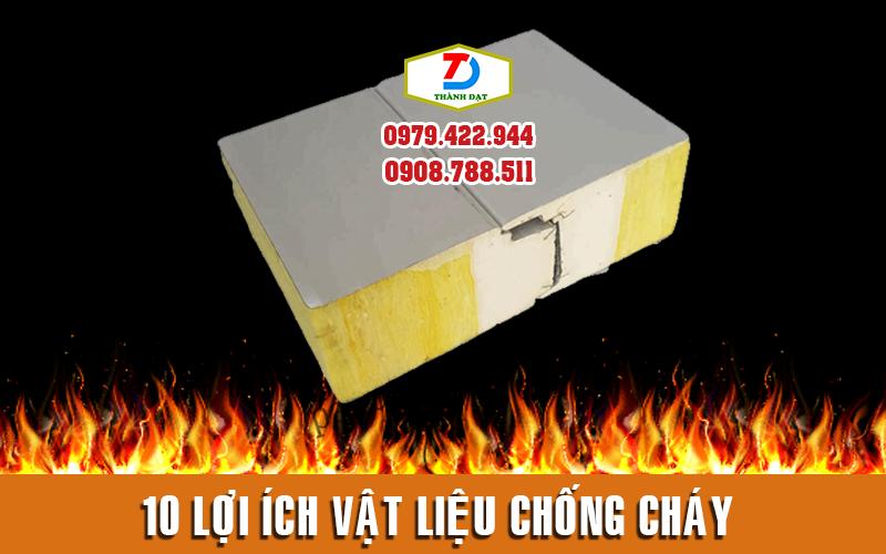 10 lợi ích của vật liệu cách âm cách nhiệt chống cháy